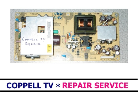 Picture of DPS-153AP-3 DELTA / SANYO 1AV4U20C38400 POWER SUPPLY BOARD REPAIR SERVICE FOR SANYO LCD TV