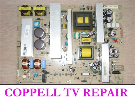Picture of EAY41360901 / PSPF551601A LG power supply board replacement - serviced, tested, $50 credit for old dud