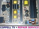 Picture of REPAIR SERVICE FOR 6709900020A LG 50' POWER SUPPLY BOARD