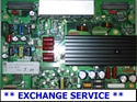 Picture of EBR31872801 LG YSUS SUSTAIN BOARD - SERVICED AND TESTED, $30 BACK FOR OLD DUD