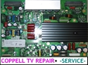 Picture of Repair service for TOSHIBA 42HP66 42HP16 YSUS board 75003031 causing lack of image, display flickering or other issues