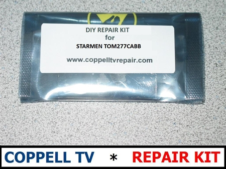 Picture of DIGITAL LIFESTYLES FA2B-42570 REPAIR KIT FOR POWER SUPPLY BOARD - DEAD TV OR INTERMITTENT SHUTDOWN
