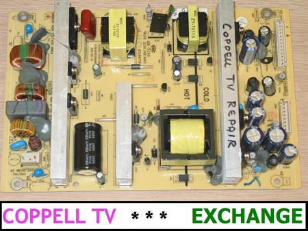 Picture of HAIER L32D1120 POWER SUPPLY BOARD EXCHANGE SERVICE (DEAD TV, DOES NOT POWER ON)