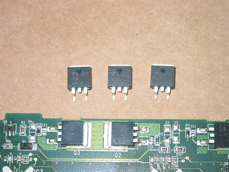 Picture of REPAIR KIT FOR BUFFER BOARDS LG 6870QDC004A / 6870QDC005A FOR 50' PLASMA TV
