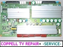 Picture of Repair service for Samsung HP-T5054, HP-T5064 Y-Main board (sound but no image or not powering on)