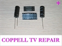 Picture of 6632L-0470A OR 6632L-0471A LCD INVERTER REPAIR KIT WITH CAPACITORS