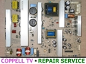 Picture of REPAIR SERVICE LG 50PG3000 POWER SUPPLY BOARD FOR DEAD TV OR CLICKING ON AND OFF PROBLEM