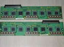 Picture of HITACHI P50H411A plasma TV SDR-U and SDR-D buffer boards exchange service