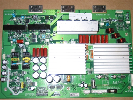 Picture of 6871QYH039B LG YSUS BOARD - SERVICED, TESTED, WARRANTY, $40 CREDIT FOR OLD DUD