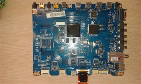 Picture of BN94-03316M BN97-04034H main board from SAMSUNG PN58C6400TF