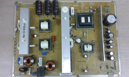 Picture of Repair service for Samsung BN44-00445A / BN44-00445C power supply board caysing dead TV, intermitent shutdowns etc.