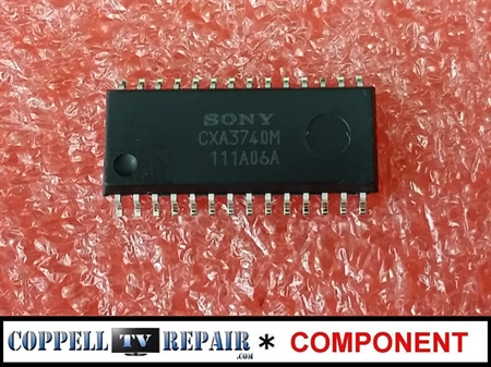 Picture of CXA3740M Sony PWM / PFC driver IC (Sony KDL-55BX520 APS-311 and others)