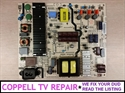 Picture of Repair service for LG 50UH5500-UA power supply 50E6000-6L60N / 168P-L5L01F-W0 causing dead or failing to start TV
